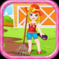 Ícone do apk Jogos de fazenda da menina
