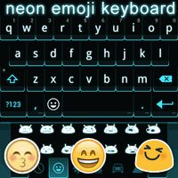 Ícone do apk Neon Emoji Keyboard Emoticons
