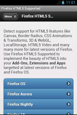 Download HTML5 Supported for Firefox 1 7 28 free APK Android