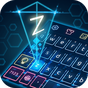 Tema de teclado de holograma 10001006