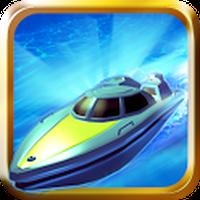 Icône apk Turbo River Racing Free