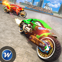 Bike Racing Futuristic Demolition Derby apk icon
