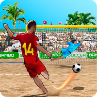 Shoot Gol Beach fotbal