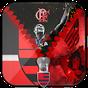 Flamengo Tela de bloqueio de zíper  APK