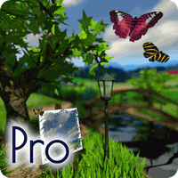 Parallax Nature: Summer Day XL 3D Gyro Wallpaper Icon