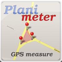 Ícone do Planimeter medir área num mapa