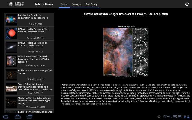 Hubble Space Center Image 3