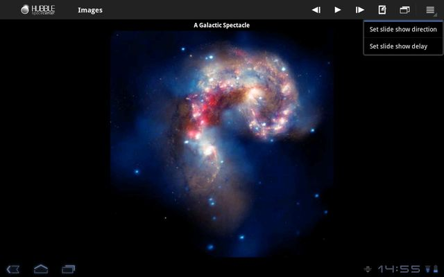 Hubble Space Center Image