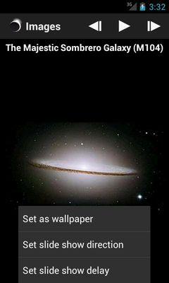 Hubble Space Center Image 1