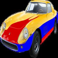 자동차 - 어린이를위한 색칠 아이콘
