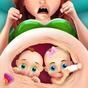 Yeni doğan ikizler Bebek hamile anne cerrahlık  APK