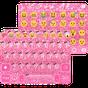 Pink Glitter Keyboard Theme  APK