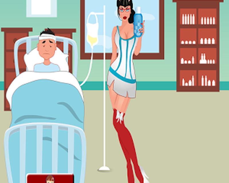 Медсестра и пациент игры флеш
