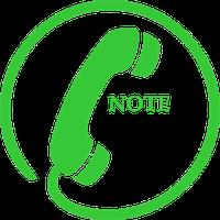 Robot Note Call Recorder Full Simgesi