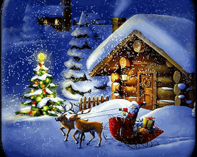 Sfondi Natalizi Animati.Notte Di Natale Sfondi Animati 10 0 Download Gratis Android