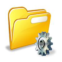 File Manager (File transfer) Simgesi