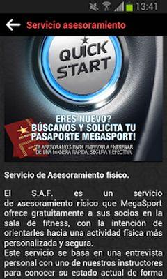 MEGASPORT - A Lifestyle Screenshot apk 3
