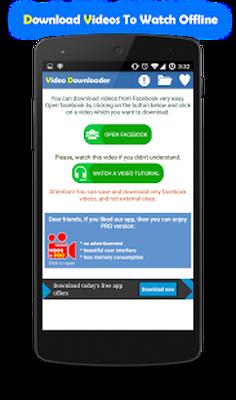 Download Fast Facebook Video Downloader 1 4 1 free APK Android