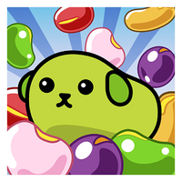 Biểu tượng apk Bean crush - Adorable Match 3