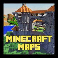 Ícone do apk Maps for Minecraft PE. Mapas