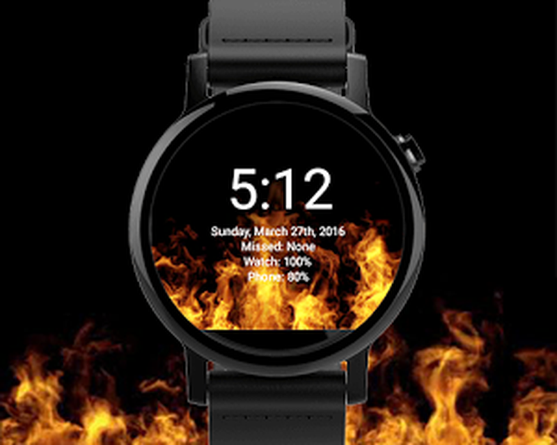 Watchface Live Fire Wallpaper Apk Free Download App For Android