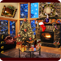 Icono de Christmas Fireplace LWP