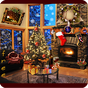 Christmas Fireplace LWP Free