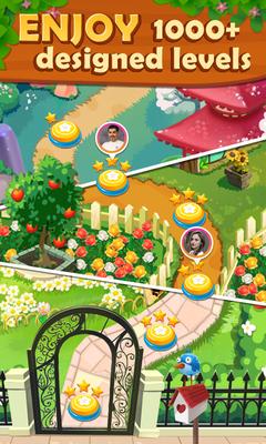 Fruits Garden   Scapes Match 3 Screenshot Apk 7