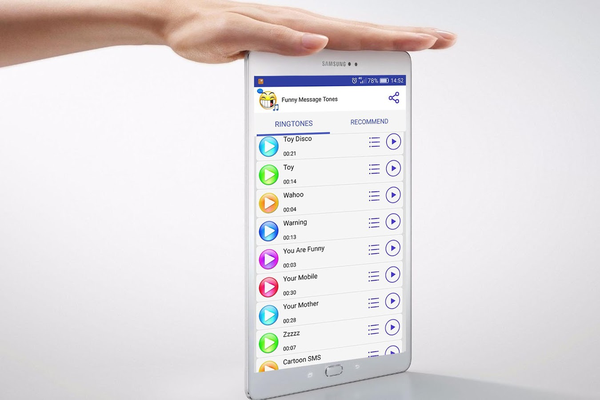 Tons de message drôles Android - Télécharger Tons de message