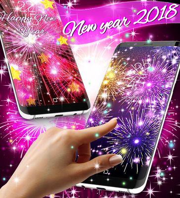 happy new year 2018 live wallpaper image