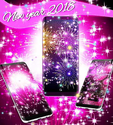 happy new year 2018 live wallpaper android free download happy new year 2018 live wallpaper app hd wallpaper themes