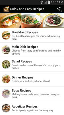 Image 5 of Quick and easy recipes
