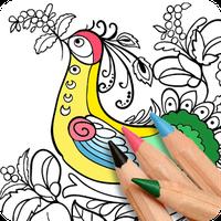Ícone do Livro de Colorir