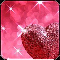 Иконка Розовый Любовь Алмазное сердце