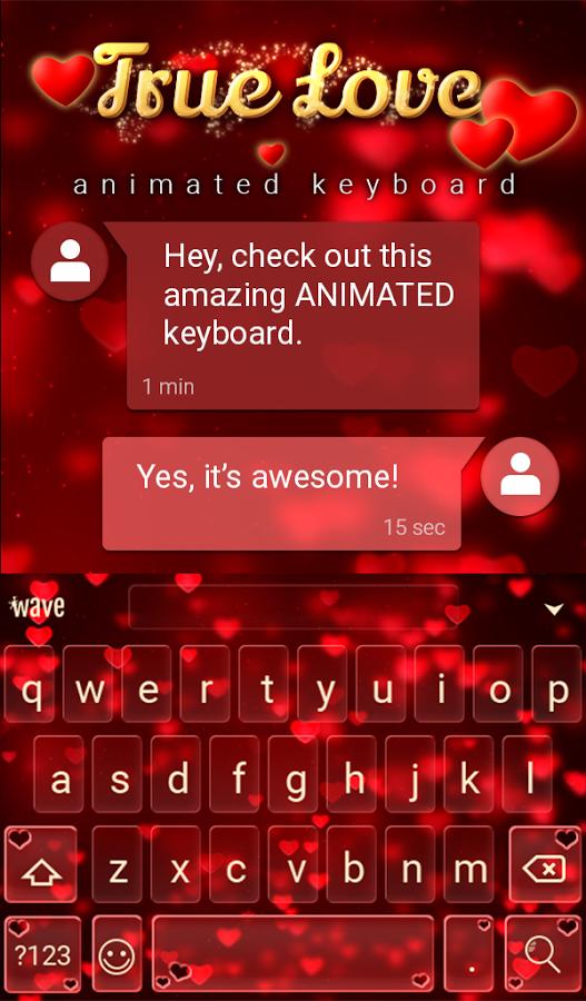 Teclado Animado Verdadeiro Android Baixar Teclado Animado