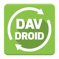 DAVdroid – CalDAV/CardDAV-Synchronisierung Icon