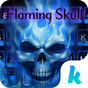 Flaming Skull Kika Keyboard 65.0