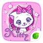 Kitty GO Keyboard Theme 4.5
