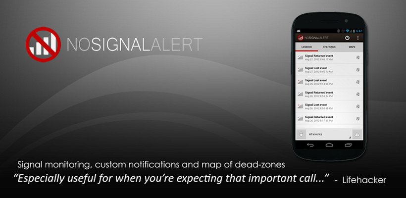No Signal Alert Pro Android - Free Download No Signal Alert