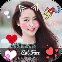 Biểu tượng Chinh Sua Anh 360 - Cat Face