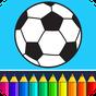 Futbol: çocuk boyama oyunu 7.6.0