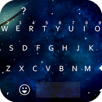 Emoji Keyboard - Night Sky Lg apk icon