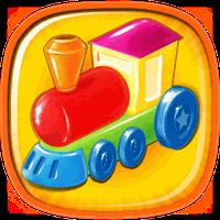 아이들을위한 퍼즐 장난감 아이콘