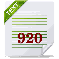 920 Text Editor apk icon