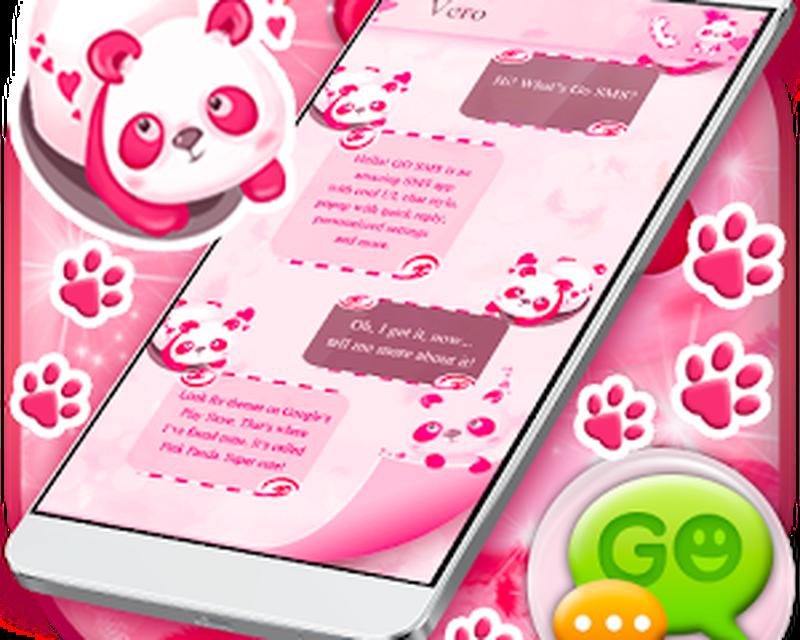 Download Pink Panda SMS free APK Android