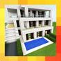 Tiga rumah modern. Peta untuk MCPE 1.0.0 APK