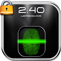 Fingerprint Lock Screen Prank Simgesi