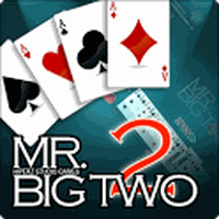 Mr. Big Two - Card game icon