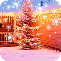 Ícone do Christmas Snow Live Wallpaper