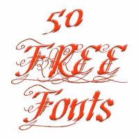 Ícone do Fontes para FlipFont 50 11